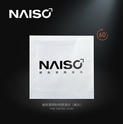 NAISO Male delay products men's premature ejaculation sex delay wipes
