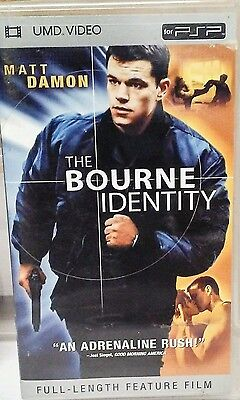 Pre-Owned UMD Movie The Bourne Identity 2604-2