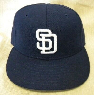 0c901590185 NEW ERA 59 50 San Diego Padres Fitted Baseball Cap -  17.99