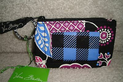 "Vera Bradley  Zip Id Case ""alpine Floral"" Retired Pattern!  New With Tags!"