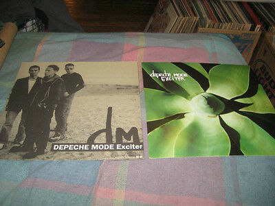 DEPECHE MODE-(exciter)-1 POSTER-2 SIDED-12x12-NMINT-RARE