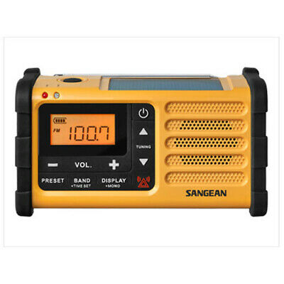 Sangean MMR-88 FM/AM Emergency Siren Portable Radio with GEN SANGEAN WARR