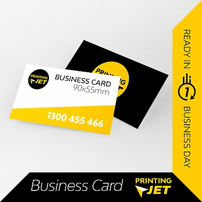 Business Cards [1000 Laminated] Double Sided 420 micron Business Card Printing