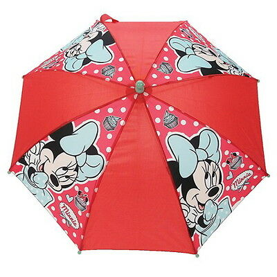 NEW OFFICIAL Minnie Mouse Disney Girls / Kids Classic Umbrella / Brolly