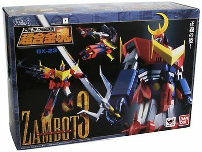 NEW Soul of Chogokin GX-23 Invincible Super Man ZAMBOT3 Action Figure BANDAI F/S