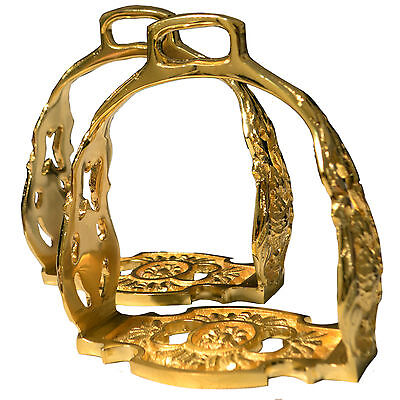 UMAF, Monarch Of Stirrups, German Steel, Water Of Gold, A Class Product, Antique