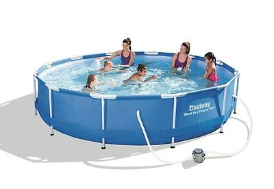 Bestway 12ft Steel Pro Frame Swimming Pool Set (6,473L)