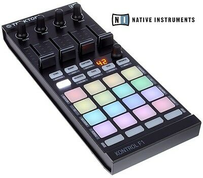 Native Instruments TRAKTOR KONTROL F1 DJ Controller STEMS-Ready NI22504