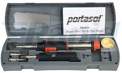 Portasol SP-1K SuperPro 125 Gas Soldering Iron Kit OR Replacement Tips