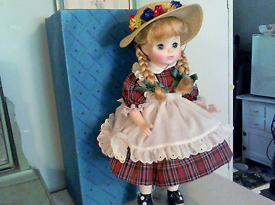 Madame Alexander McGuffey Anna doll with original outfit, box and hangtag 1960's