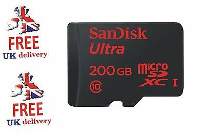 SanDisk 200GB Ultra 90MB/s Class 10 UHS-I Micro SD SDXC  **SALE UNTIL NEW YEAR**
