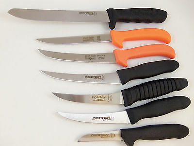 Dexter Russell 7 piece Knife Set, Sani-safe, Made in the USA, NSF - 7PC
