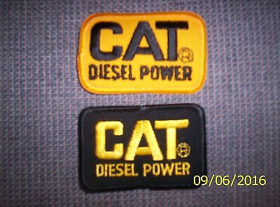 """5000 patches NEW!! Cat Diesel Power vintage patch 3""""x2"""""""