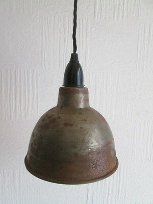 Dome industrial factory Vintage Retro Old Style pendant light shade