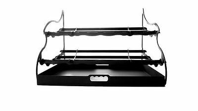 NEW! Stepflame Duel-Tier Fireplace Grate - 30 inch