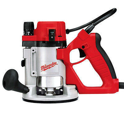 Milwaukee 5619-20 120 AC/DC 1-3/4 Max HP D-Handle Router with Collet Wrenches