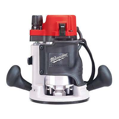 Milwaukee 5615-20 120 AC/DC 1-3/4 Max HP BodyGrip Router with Collet Wrenches