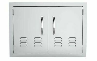 """30"""" Double Access Doors Flush Mount with Vents"""