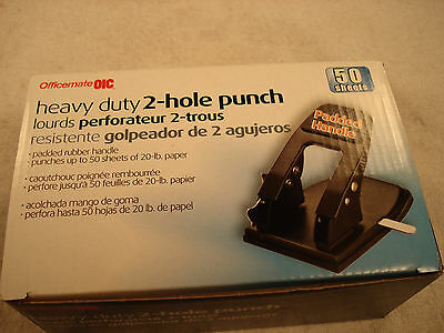 Officemate OIC Heavy Duty 2-Hole Punch