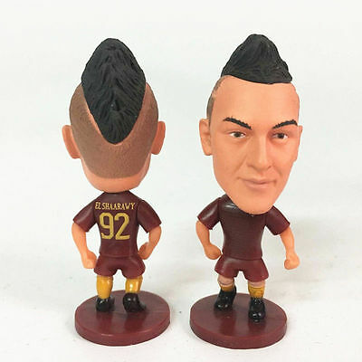 Statuina doll STEPHAN EL SHAARAWY #22 AS ROMA CALCIO football action figure 7cm
