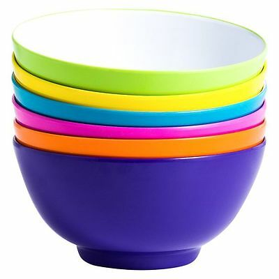NEW Barel Designs Barel Bright Melamine Bowl, 15cm (Set of 6)