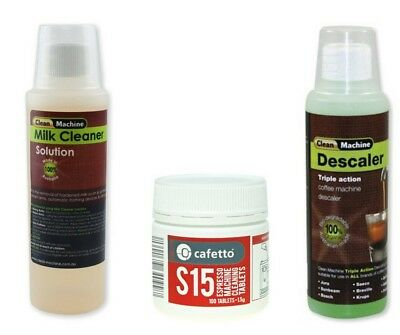 Coffee Machine Cleaner Tablets  Espresso Descaler Cleaning  Delonghi Jura Saeco