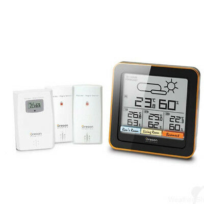 Oregon RAR502 Climate Control Weather Station with GEN OREGON WARR