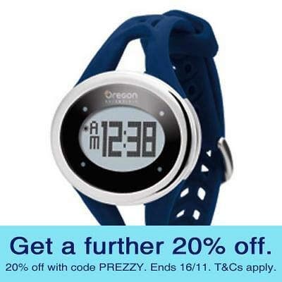 Oregon SE336M Heart Rate Watch - Blue with GEN OREGON WARR
