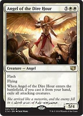 ANGEL OF THE DIRE HOUR Commander 2014 MTG White Creature — Angel Rare
