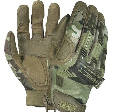 US Mechanix Wear M Pact Gloves Army Gloves Multicam M / Medium