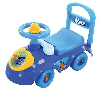 New Finding Dory My First Sit and Ride Bike Fun Squeaker And Phone Feature 1+