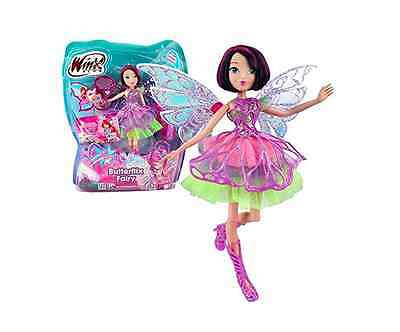 Winx Club  Butterflix Fairy  Tecna Doll 28cm with Magic Robe by Giochi Preziosi