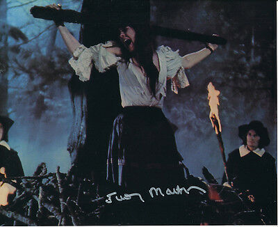 Judy Matheson SIGNED photo - Twins of Evil - J45