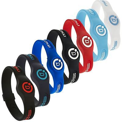 Bioflow 2016 Sport Magnetic Therapy Silicone Wristband * Beaucoup de couleurs *
