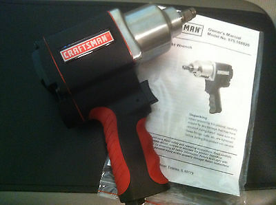 Brand New Craftsman 1/2 inch Drive Tire Socket Air Impact Wrench Gun 875 16882