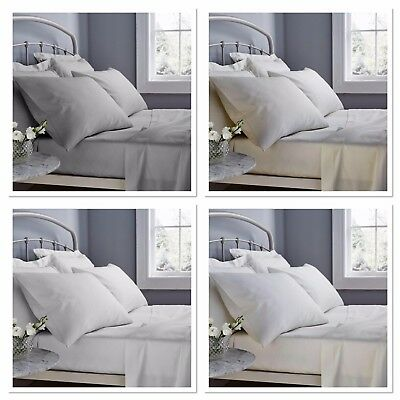 Catherine Lansfield 500 Thread Count Luxury Sateen Hotel Quality Sheets + Cases
