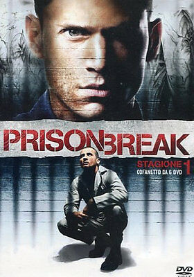 Prison Break - Stagione 1 Completa - (6 DVD) - ITALIANO ORIGINALE SIGILLATO -