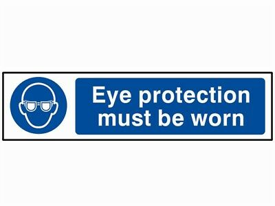 Scan SCA5001 Eye Protection Must Be Worn - PVC 200 x 50mm
