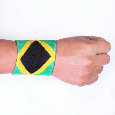 sweat band sweatbands wristbands wristband jamaica sweatbands 1 pair 2 pieces