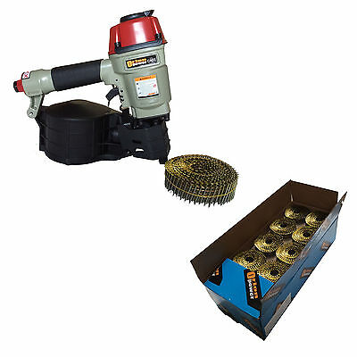 Orion Cn55 Coil Nail Gun+Flat Coil Nails Non Galvanised Package-special offer