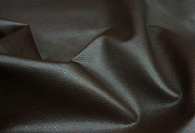 DARK BROWN Ford Faux leather upholstery vinyl (by the yard) SHIPPED ROLLED