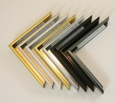 Custom Frame - Sectional Metal - Nielsen Metal Moulding Profile 22 - Any Size!