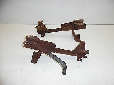 67 68 69 70 71 72 Chevy Gmc Pickup Truck Front Bench Seat Frame Tracks Adjusters
