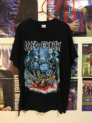 Iced Earth T-Shirt Size L