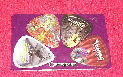 Centerstream Credit Card Collectable Picks Set Of Four Collectable