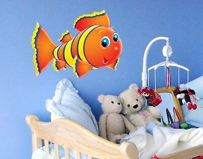 Wall Decal no.6 Stripe Fish