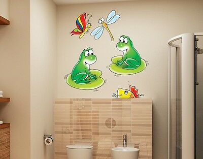 Wall Decal no.14 Frog In Concert