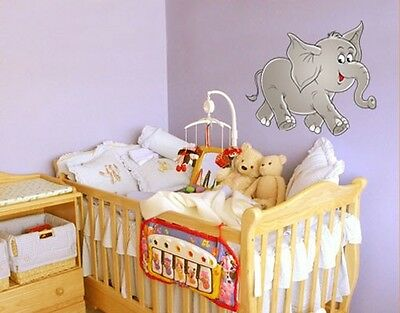 Wall Decal No.13 Happy Elephant