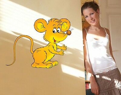 Wall Decal no.8 Cheeky Mouse
