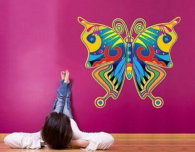 Wall Decal no.SF124 Colorful Butterfly